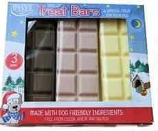 Hatchwells dog christmas tasty trio treat bars